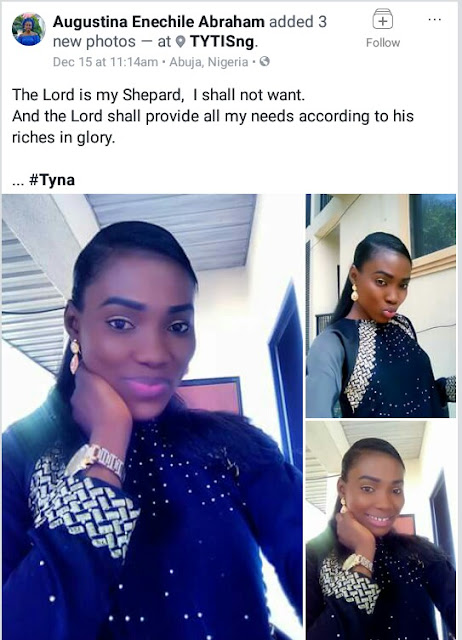 """You see someone today and tomorrow you hear they are no more"" - Ten days after mourning the death of her friend, beautiful young Nigerian lady dies"