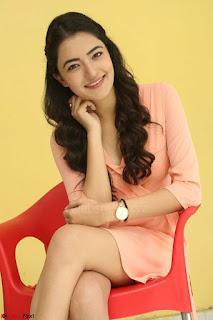 Rukshar Mir in a Peachy Deep Neck Short Dress 037.JPG
