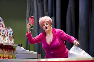 Wolfgang Ablinger-Sperrhacke as the Witch in Hansel und Gretel at Glyndebourne