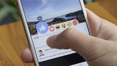 Facebook, Facebook-gombok, közösségi média, Mark Zuckenberg, Facebook-reactions
