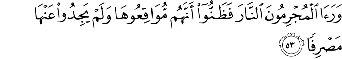 Surat Al Kahfi Ayat 53