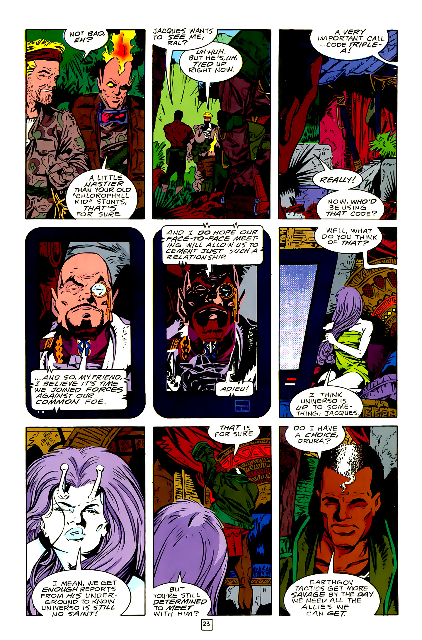 Legion of Super-Heroes (1989) 16 Page 23