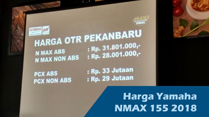 Press Launching Yamaha New NMAX 2018, Yamaha Motor Indonesia, harga motor nmax 2018, keunggulan Yamaha New NMAX 2018, varian warna motor Yamaha New NMAX 2018