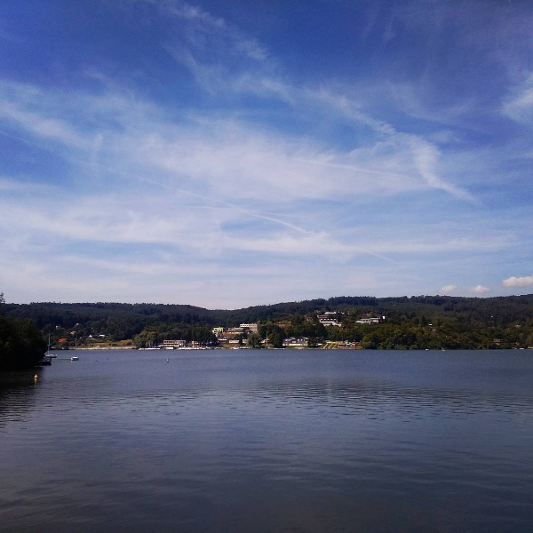 Instagram brněnská přehrada