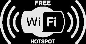 Stiker Wifi Free Hotspot Bussid
