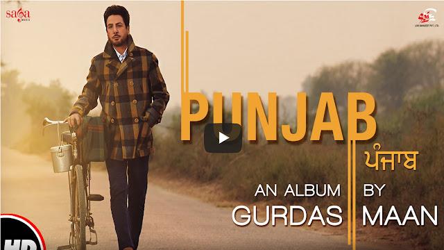 Gurdas Maan: Punjab Lyrics - Jatinder Shah