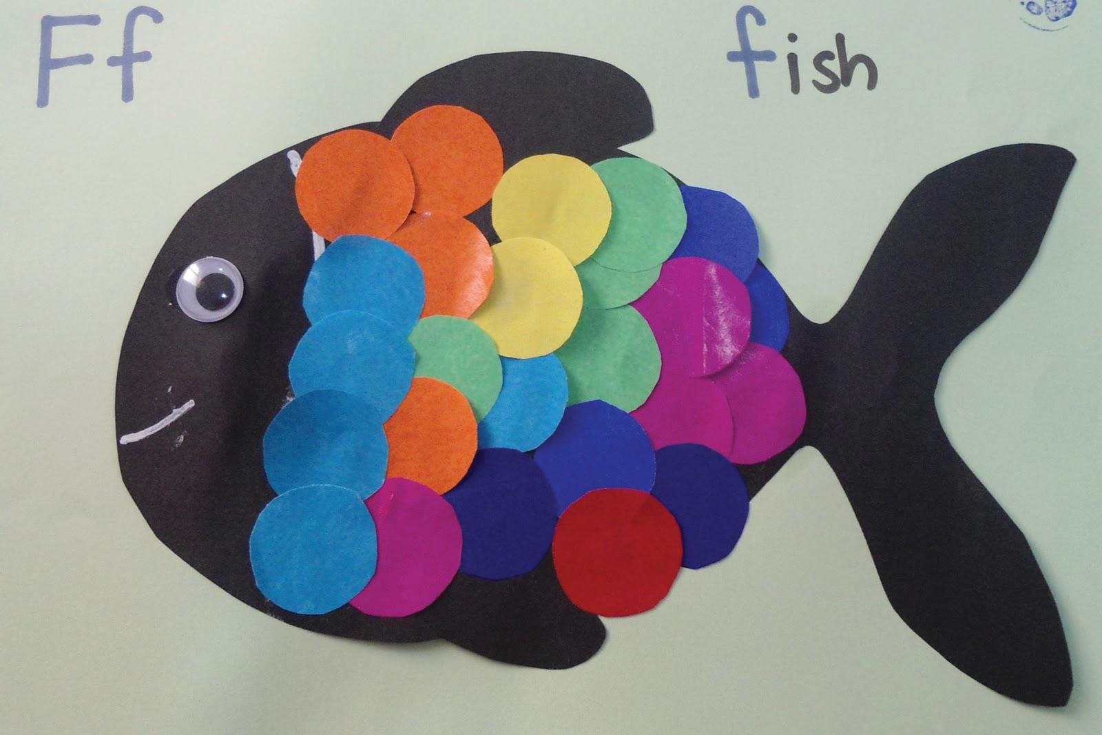 Teacher Weena Fish Craft Activity