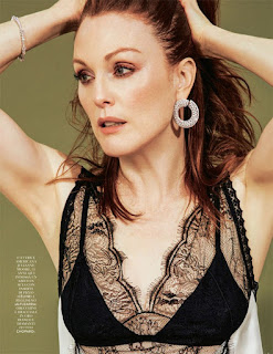 Julianne Moore does fashion photo spread for Grazia Italia magazine. See photos at JasonSantoro.com