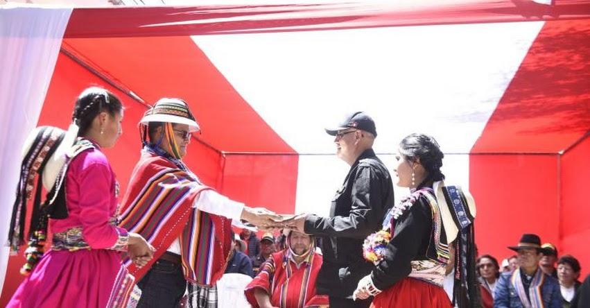Becarán a jóvenes de Cotabambas - Apurímac para estudiar en la Escuela de la Policía