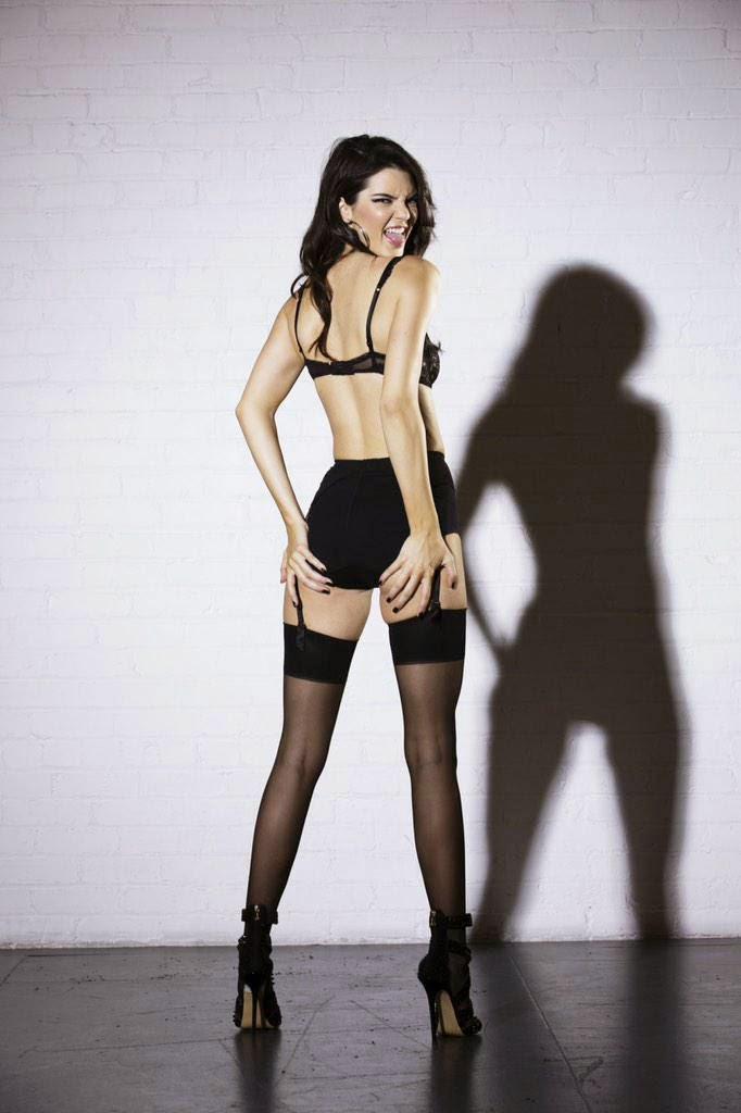 Kylie jenner new lingerie photoshoot