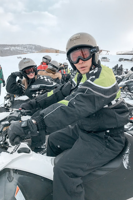 Snowmobiling in Salt Lake City, Park City Utah Summit Meadows