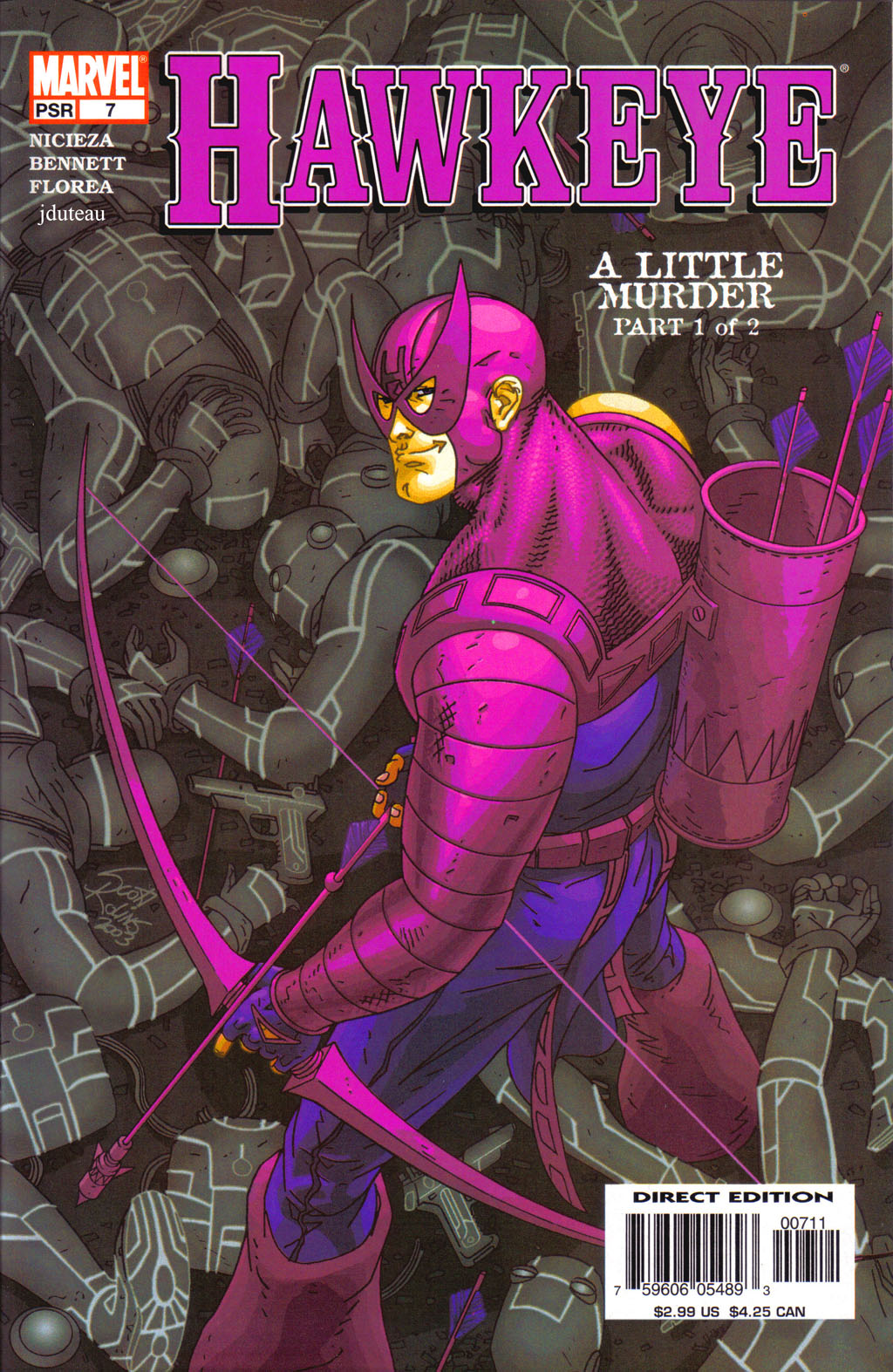 Hawkeye (2003) Issue #7 #7 - English 1