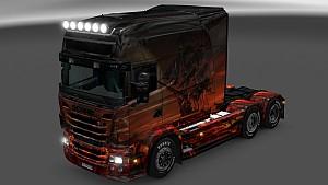 Fantasia v1 skin for Scania RJL Longline