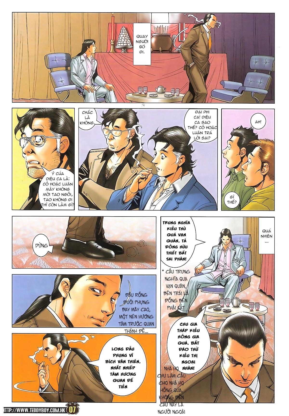 Người Trong Giang Hồ - Ngũ Hổ qui thiên - Chapter 1716: Đàm phán siêu cấp 2 - Pic 5