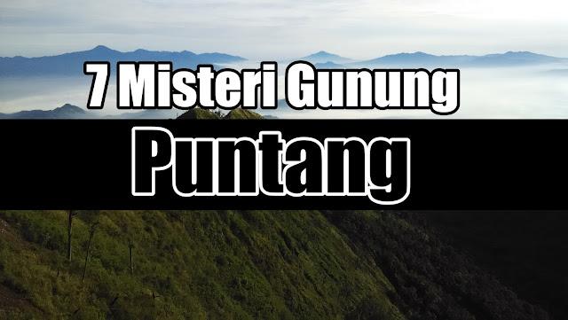 7 misteri gunung puntang