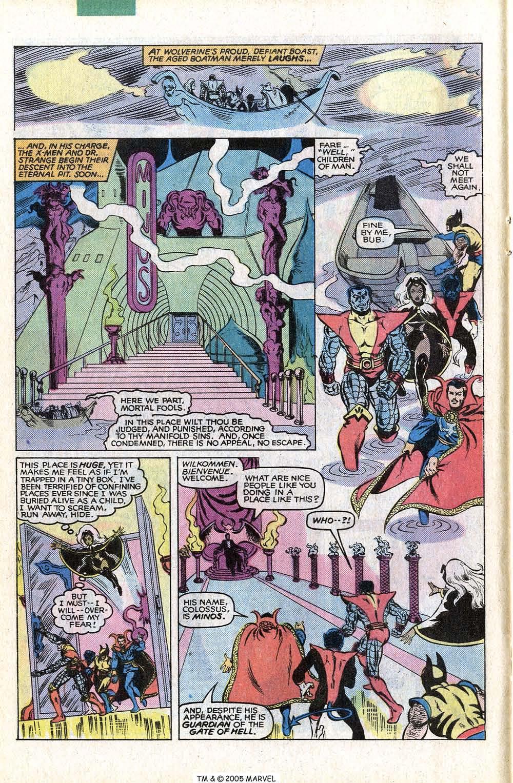 Read online Uncanny X-Men (1963) comic -  Issue # _Annual 4 - 20