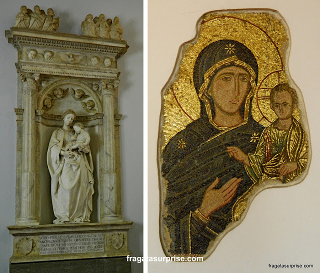 Duas madonnas do acervo do Palácio Abatellis de Palermo