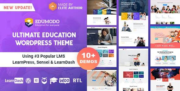 Edumodo v2.5.6 - Education WordPress Theme