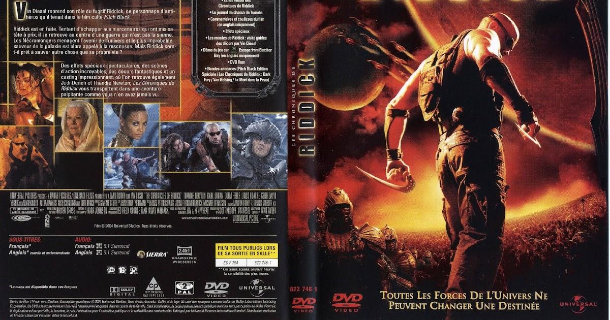 la pochette dvd de riddick