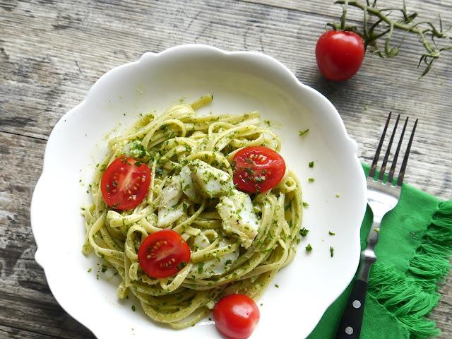 Spaghetti z dorszem i lubczykiem - Czytaj więcej »