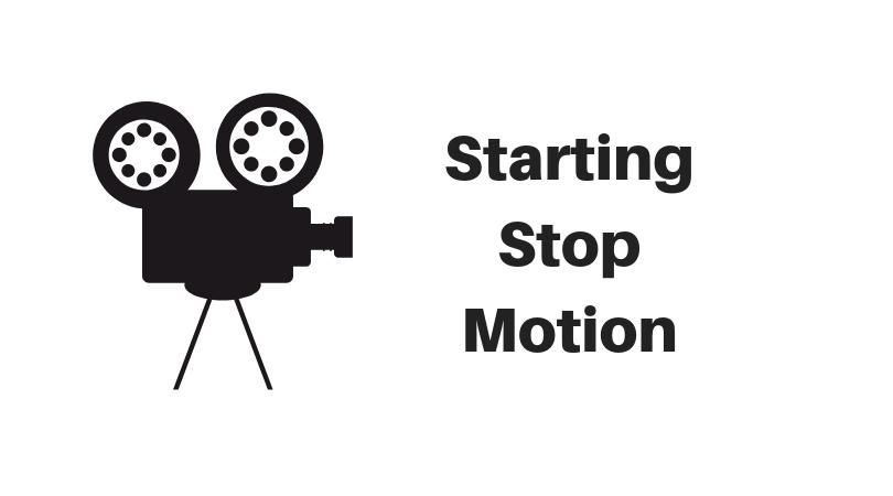 Download Black Stop Motion Logo PNG