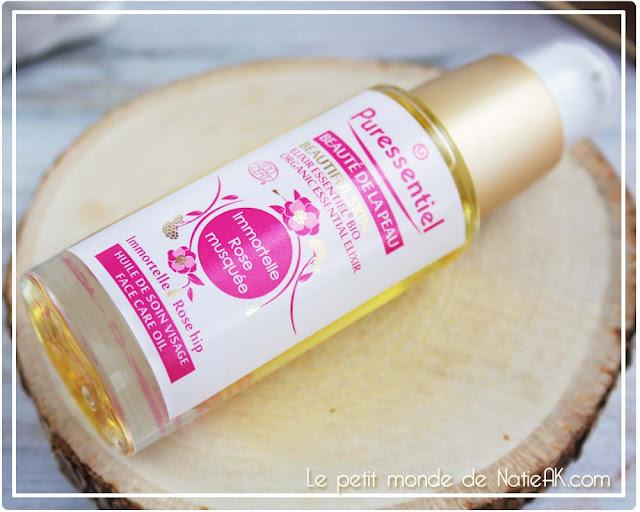 Elixir essentiel Immortelle rosée musquée de Puressentiel