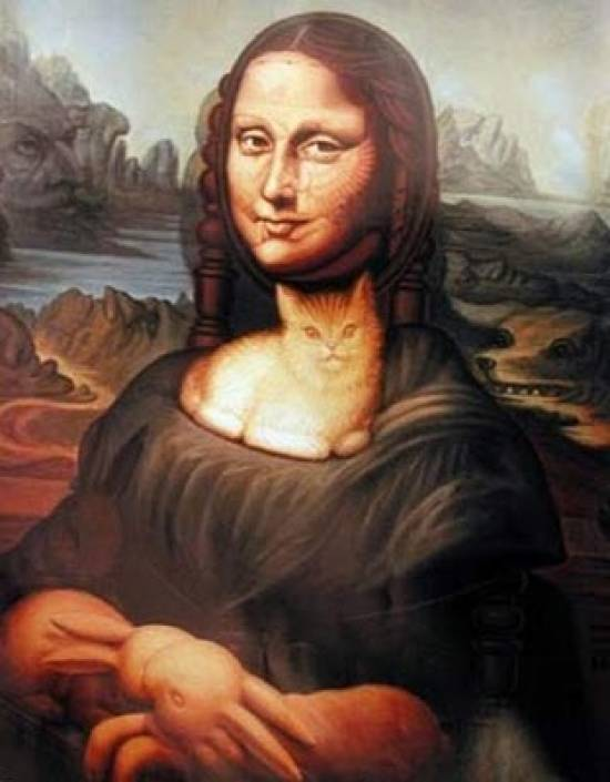 optical collection illusion wonderful things illusions hidden faces weird famous face painting amazing funny lisa mona eye animals strange unusual
