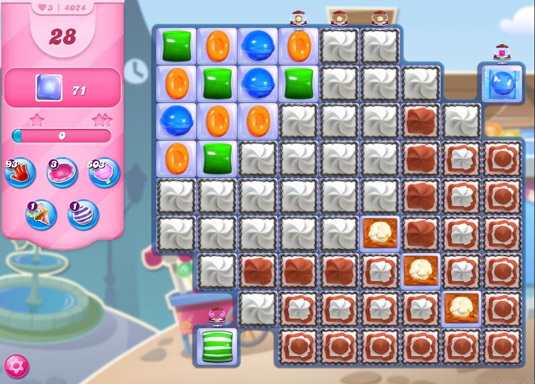 Candy Crush Saga level 4024