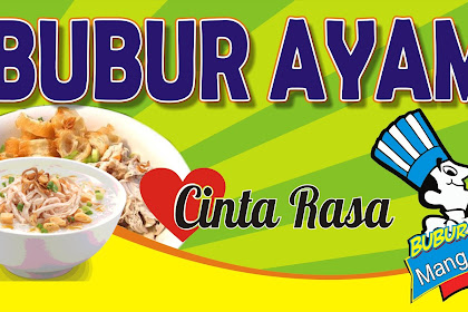 10+ Best For Banner Bubur Ayam Cdr