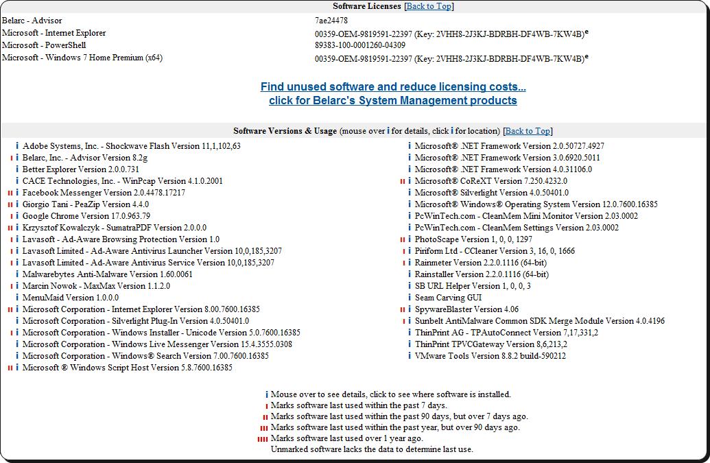 belarc advisor download for windows 10