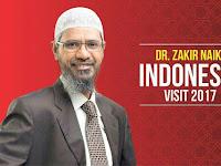 Gelar Debat? Zakir Naik Siap Berdakwah ke Non-Muslim di Indonesia