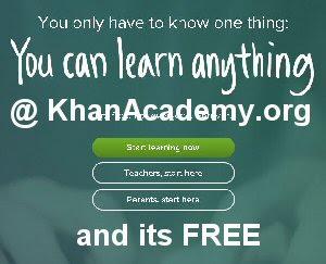 khan academy free online education