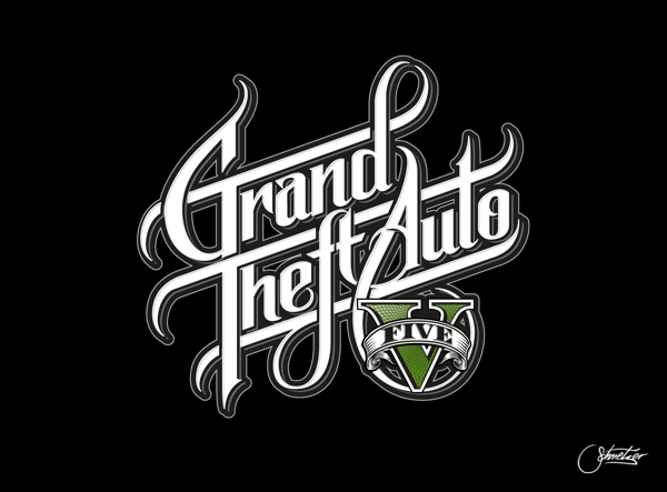 JkovNews: Nuevo Logo Para Grand Theft Auto X Martin Schmetzer