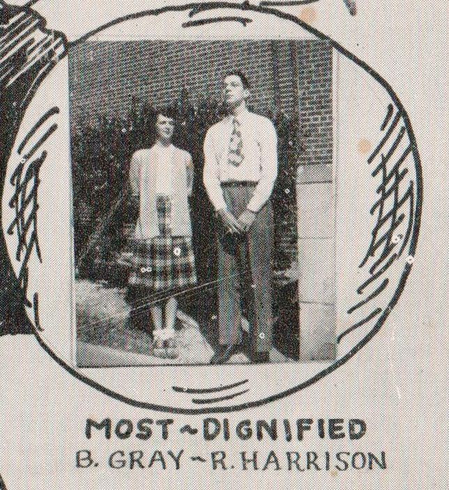 Cradock High School 1946 Senior Superlatives