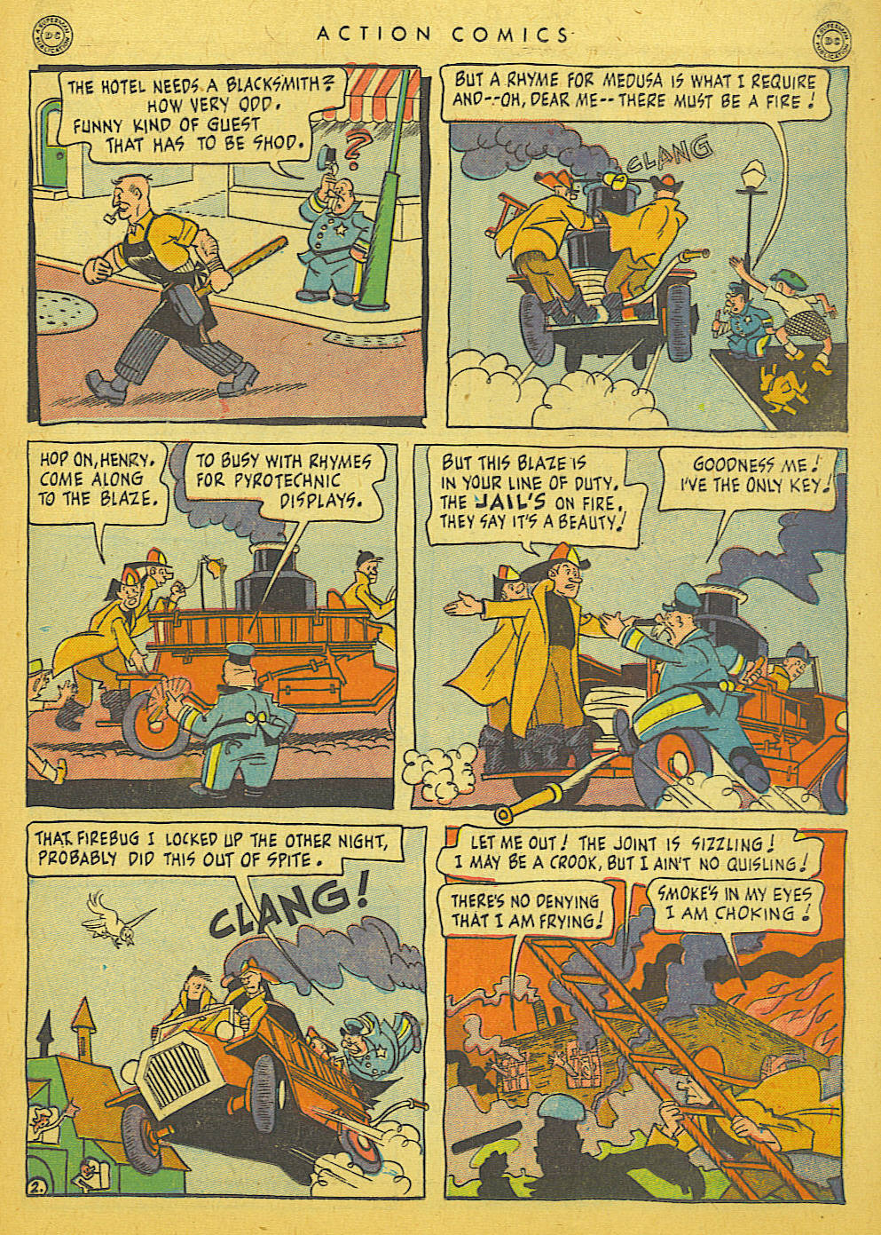 Read online Action Comics (1938) comic -  Issue #86 - 37