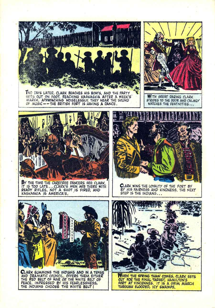 Western Roundup v1 #22 dell comic book page art by Alex Toth