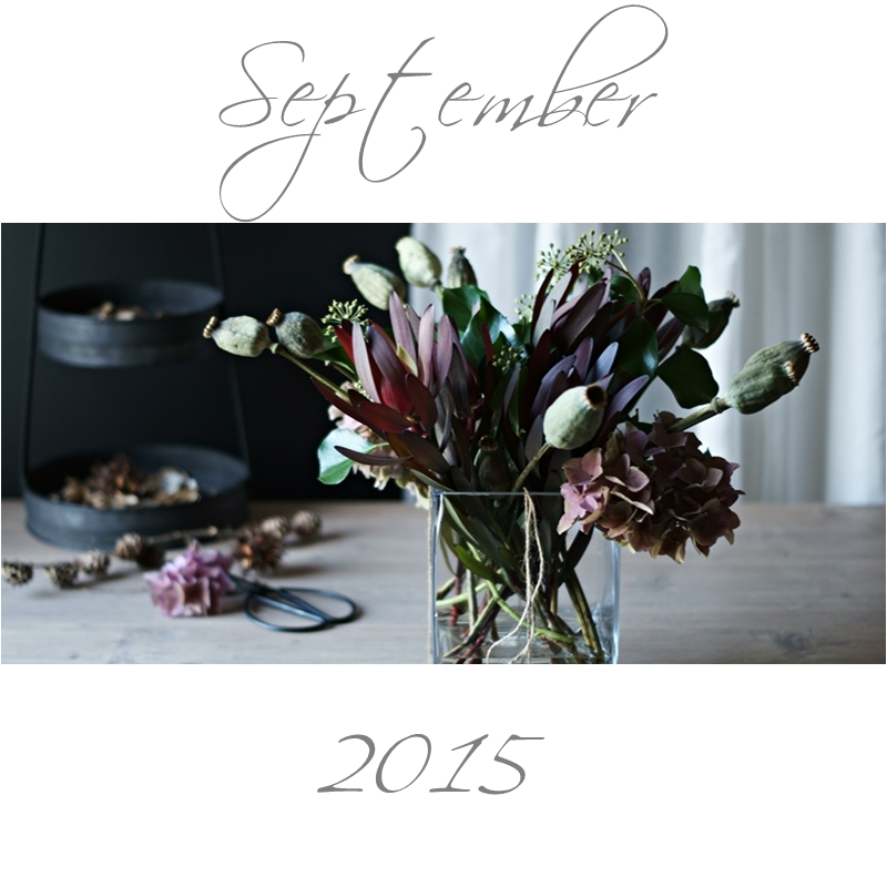 Blog + Fotografie by it's me! - Collage Friday Flowerday - September 2015