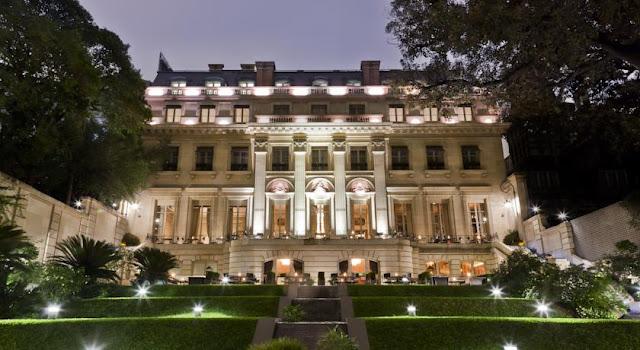Hotel de luxo Palácio Duhau - Park Hyatt em Buenos Aires