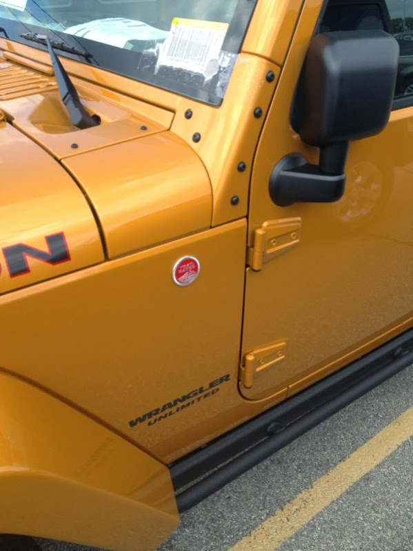 2014 Jeep Wrangler Unlimited Rubicon Exterior Amp'd Colors