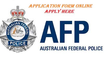 Australian Federal Police Recruitment 2018/2019 | Application Form Online