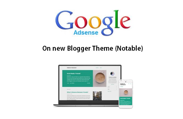 places to put google adsense in the new official blogger templates