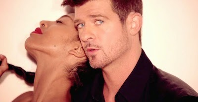 "Robin Thicke ""Blurred Lines"" image"