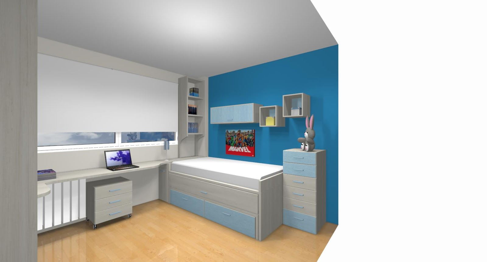 Xikara dormitorios juveniles y habitaciones infantiles madrid - Dormitorios juveniles segunda mano madrid ...
