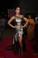 Shreya Saran in Skin Tight Golden Gown ~  Exclusive 050.JPG