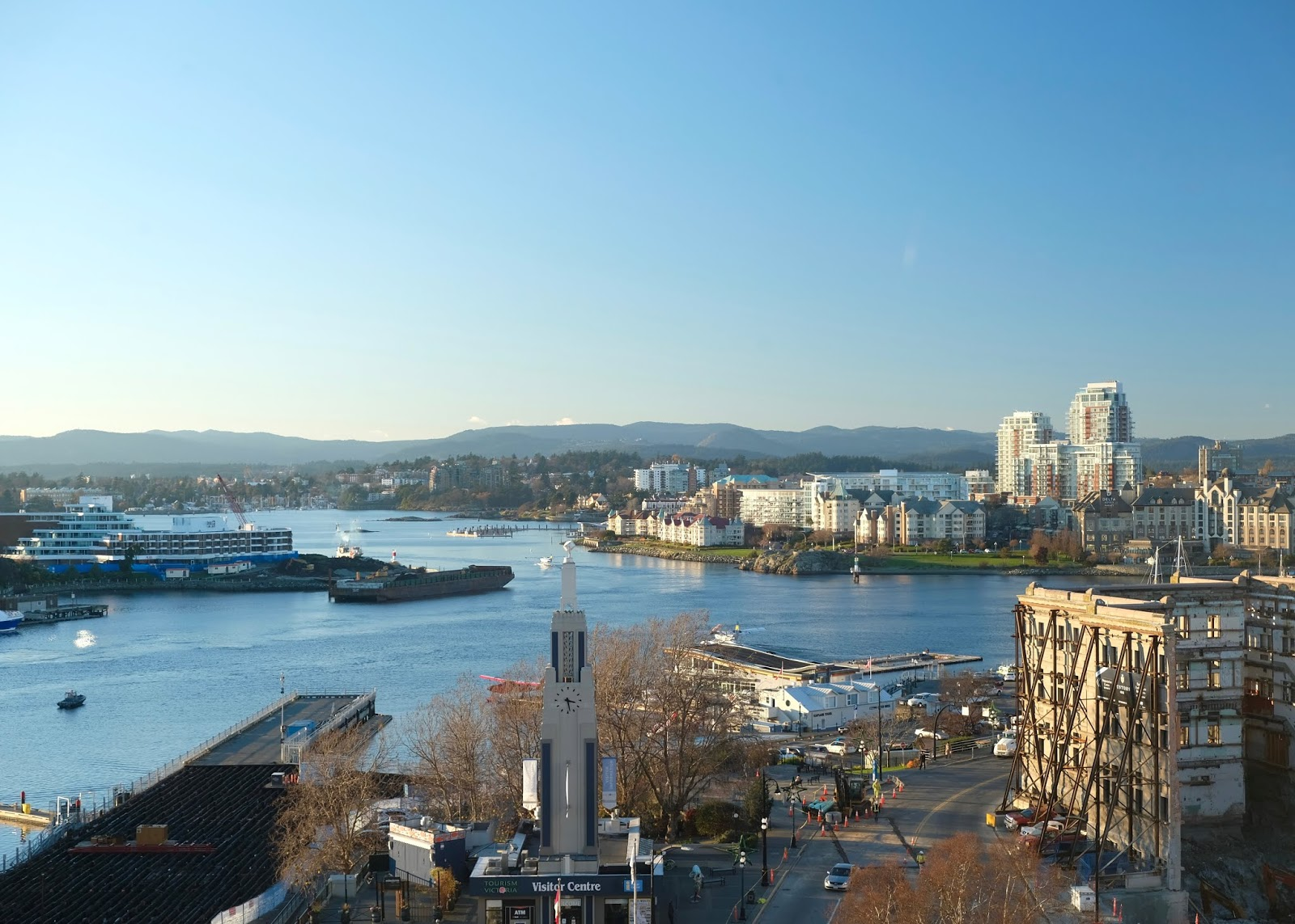 Fairmont Empress Hotel Review | Harbour View Deluxe Room