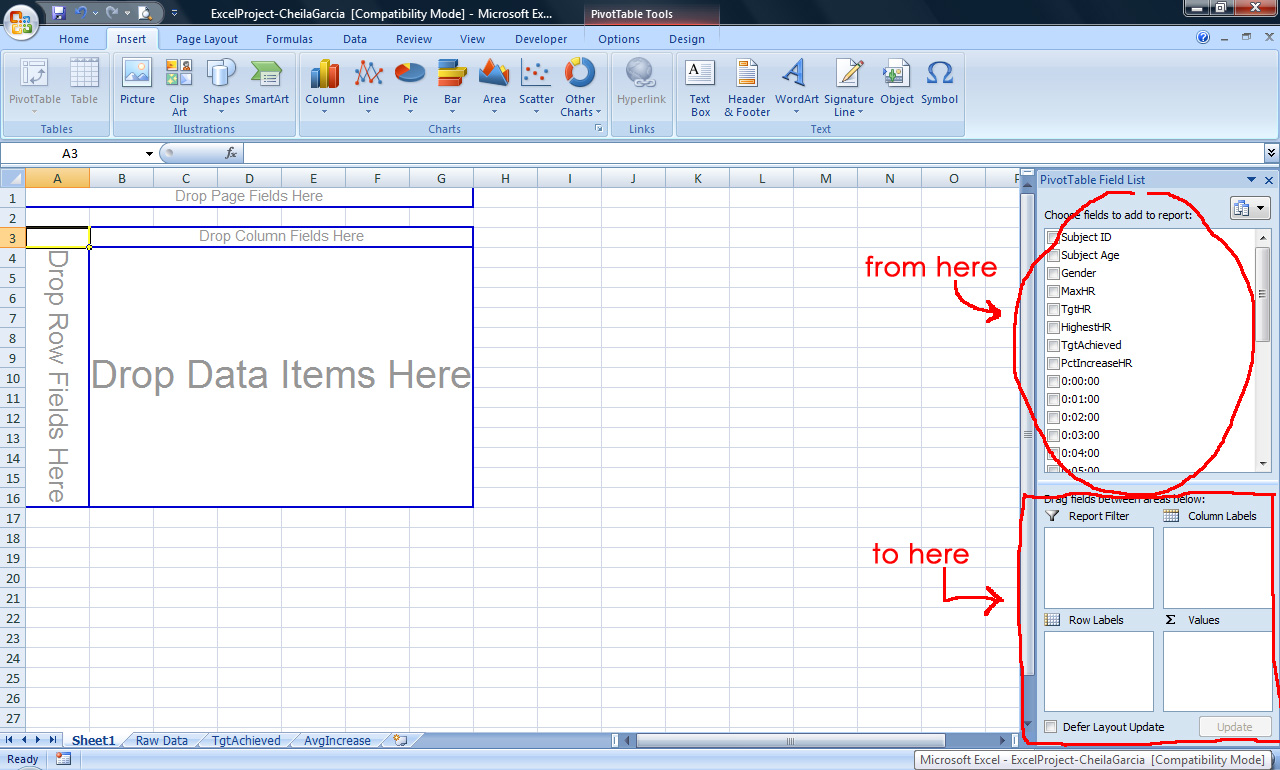 Tutorial 2 Pivot Tables In Microsoft Excel Tutorial 2