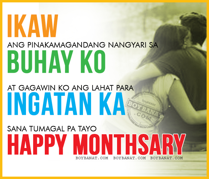 Happy Quotes Tagalog Twitter: Tagalog Happy Monthsary Quotes And Pinoy Monthsary Sayings