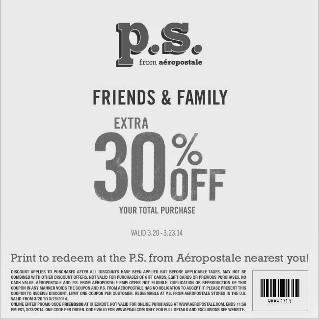 photo about Aeropostale Printable Coupons identified as Aeropostale printable coupon codes 2019