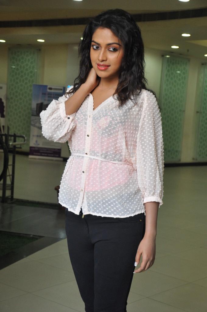 Amala paul at nayak in hot dress