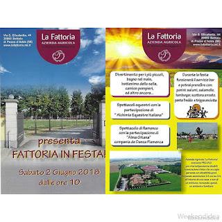 La fattoria in festa 2 giugno Bettola di Pozzo d'Adda (MI)